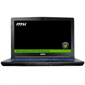 MSI STATION DE TRAVAIL PORTABLE i7-7700HQ QUADRO M1200 WE62 7RI-2002FR