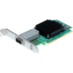 ATTO FastFrame ™ N311 QSFP28 Single Port 25/40/50/100GbE PCIe 3.0