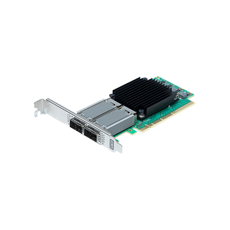 ATTO FastFrame ™ N352 QSFP28 Dual Port 25/40/50GbE PCIe 3.0 Network Adapter
