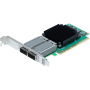 ATTO FastFrame ™ N352 QSFP28 Adaptateur réseau PCIe 3.0 double port 25/40 / 50GbE