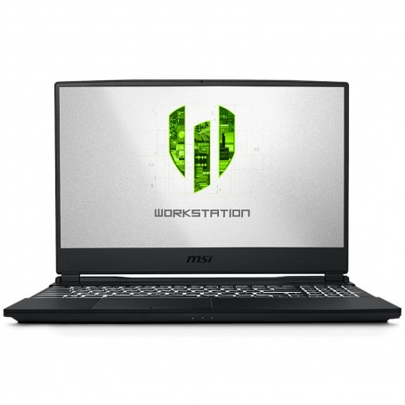 MSI STATION DE TRAVAIL PORTABLE  i7-9750H QUADRO T2000 WE65 9TJ-008FR