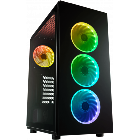 PC GAMING APY RED AMD RYZEN 7 serie 5000 NVIDIA RTX SANS OS