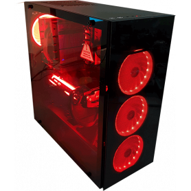 PC GAMING APY RED AMD RYZEN 9 NVIDIA RTX 2070 SUPER SANS OS