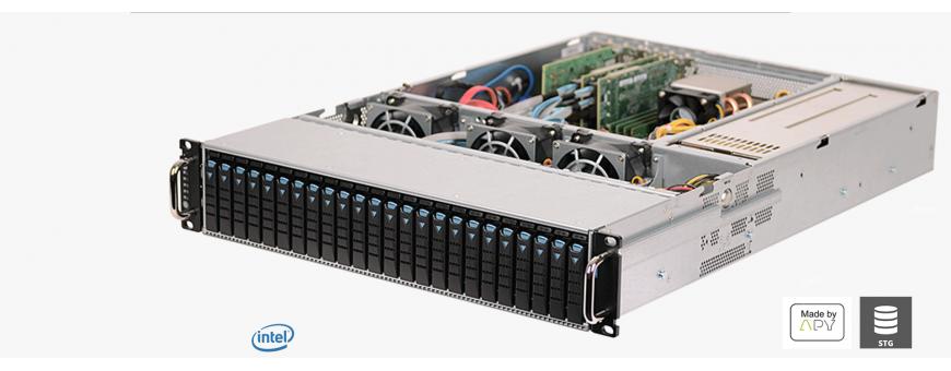 Storage solution, rent storage server