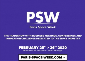 Paris space week on February 25 and 26, 2020